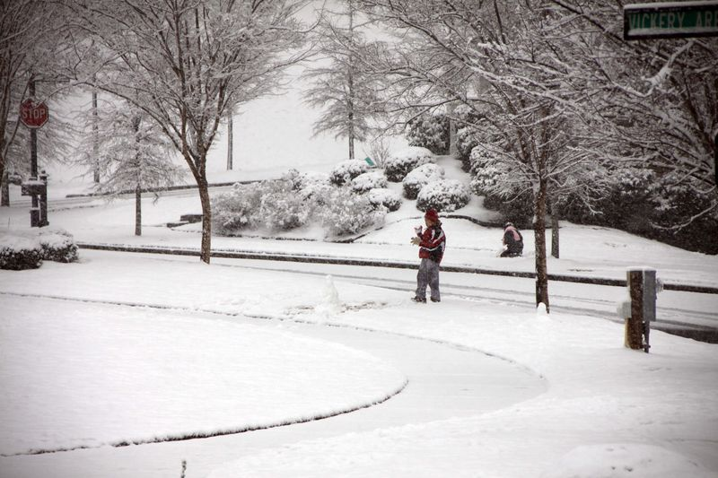 Valentine's Day Snow